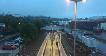 Der Mittelbahnsteig des Bahnhof Meinerzhagen kann nun voll genutzt werden.