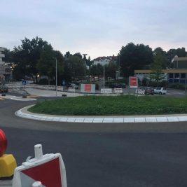 Kreisverkehr an der Stadthalle. Foto: CDU Meinerzhagen