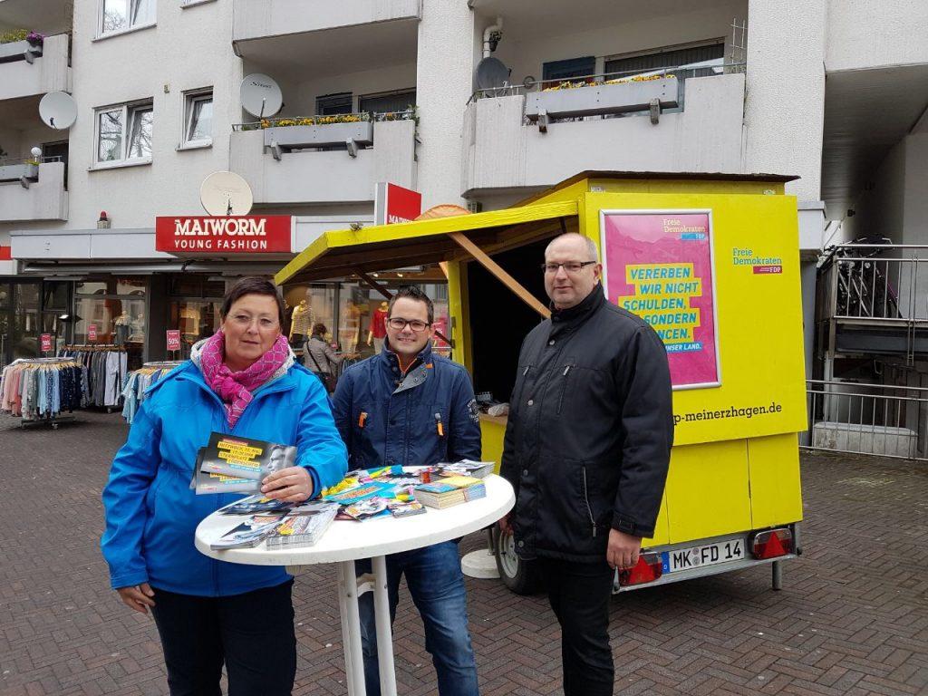 Infostand in Meinerzhagen