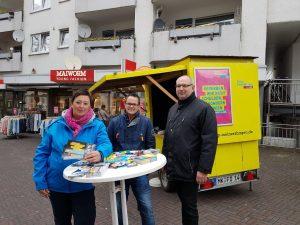 Infostand in der Innenstadt @ Einkaufszone Meinerzhagen | Meinerzhagen | Nordrhein-Westfalen | Deutschland