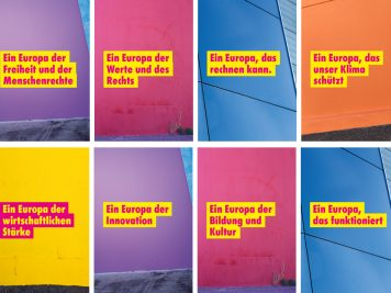 Zentrale Themenfelder der Freien Demokraten bei der Europawahl 2019