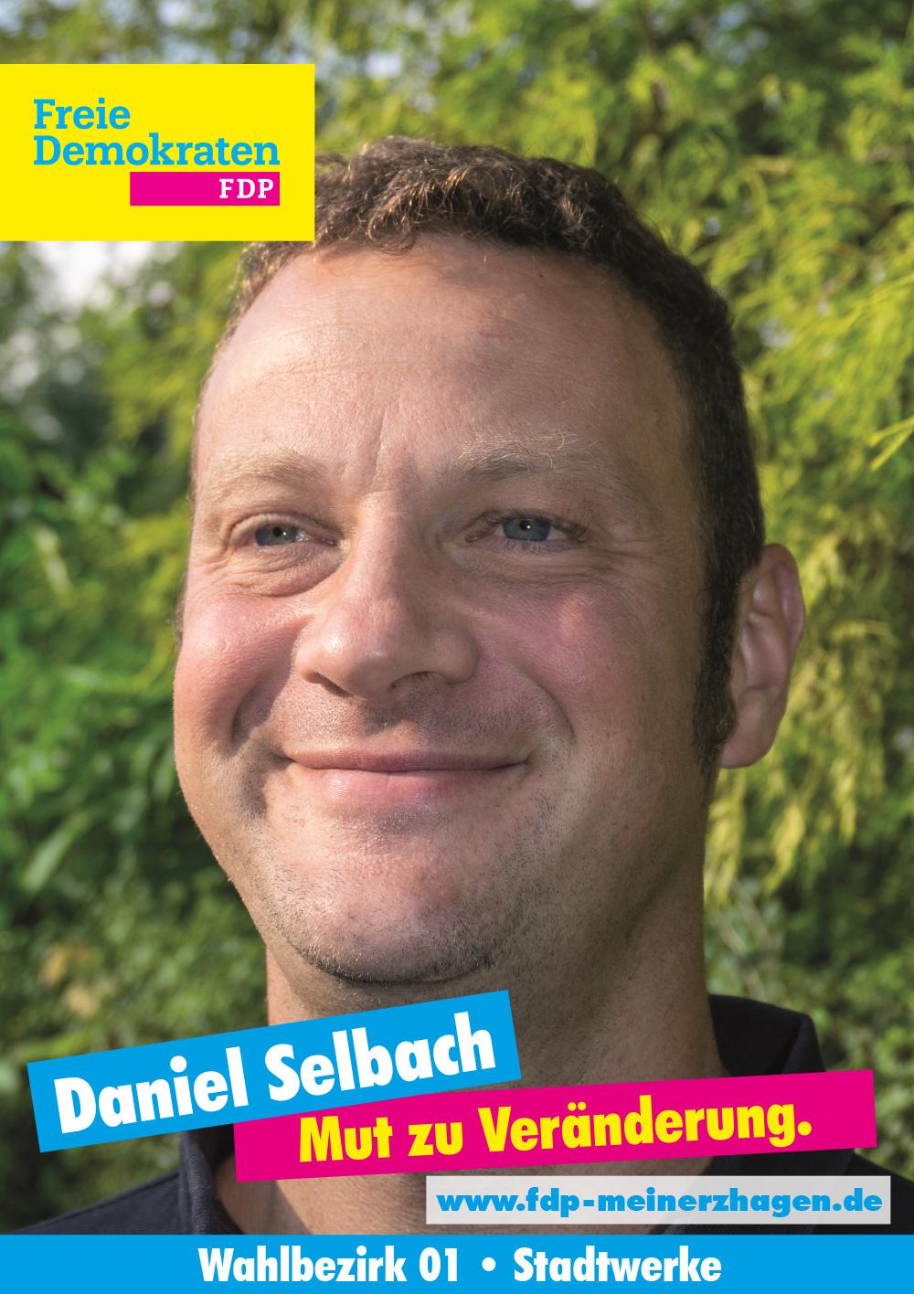 Daniel Selbach - Unser Kandidat für Wahlbezirk 1