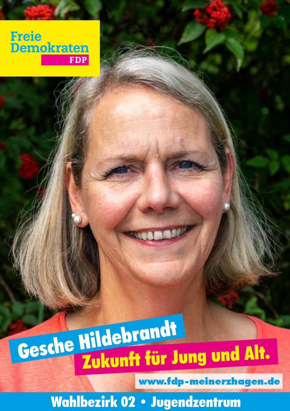Gesche Hildebrandt - Wahlbezirk 2