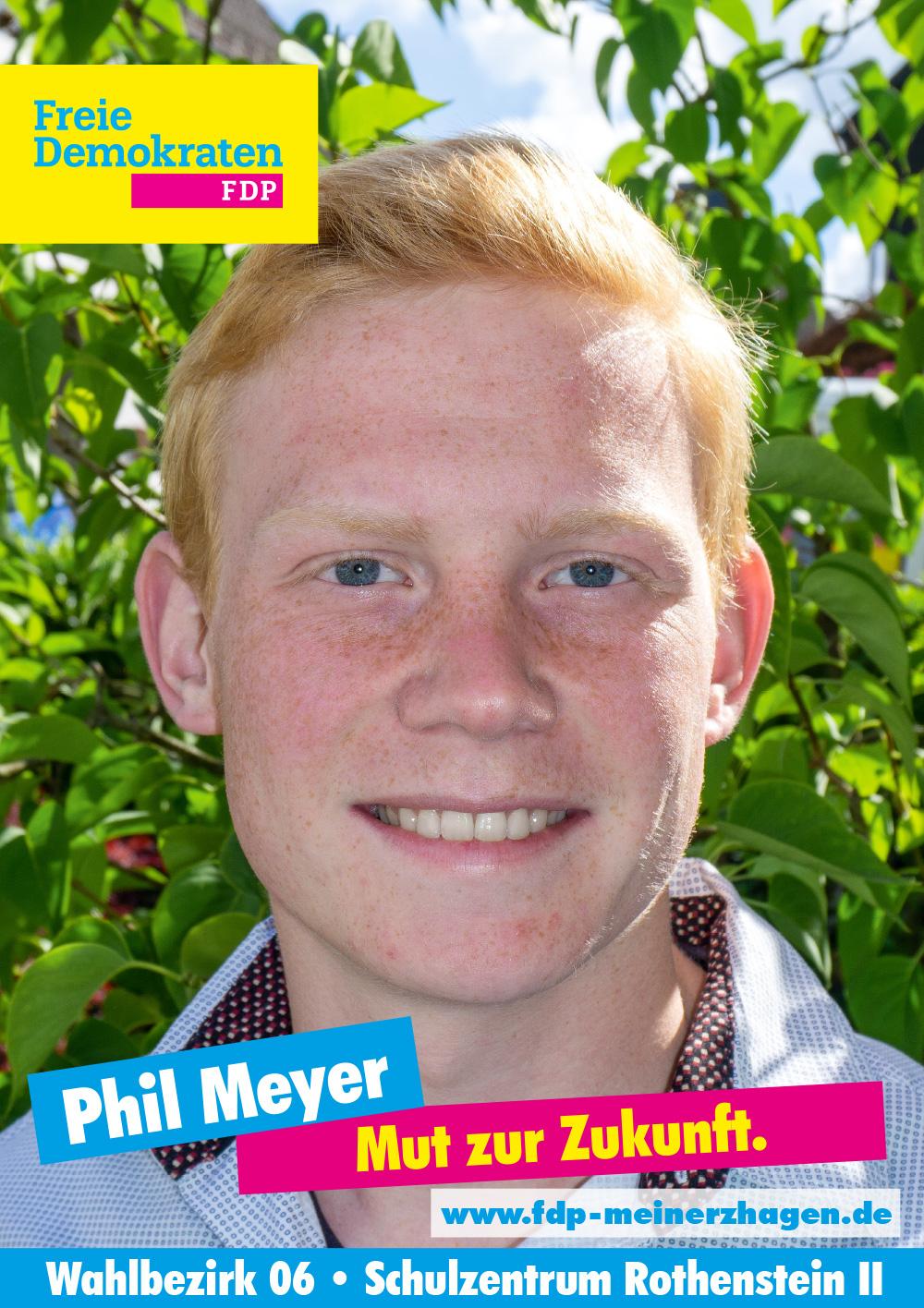Wahlbezirk 6 - Phil Meyer