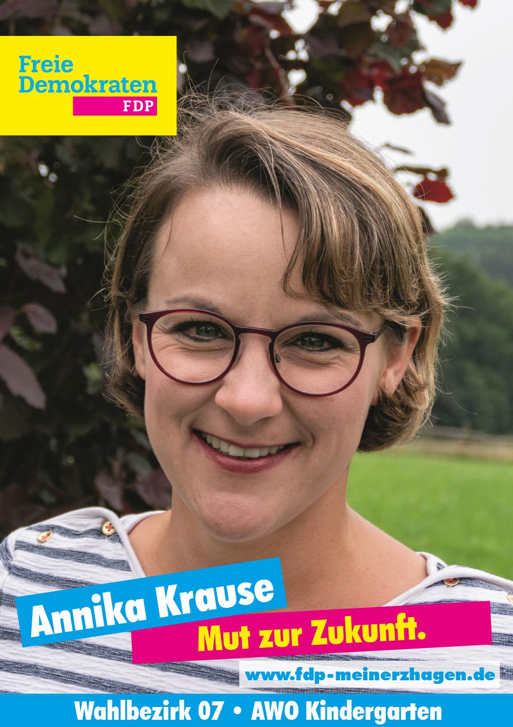 Wahlbezirk 7 - Annika Krause
