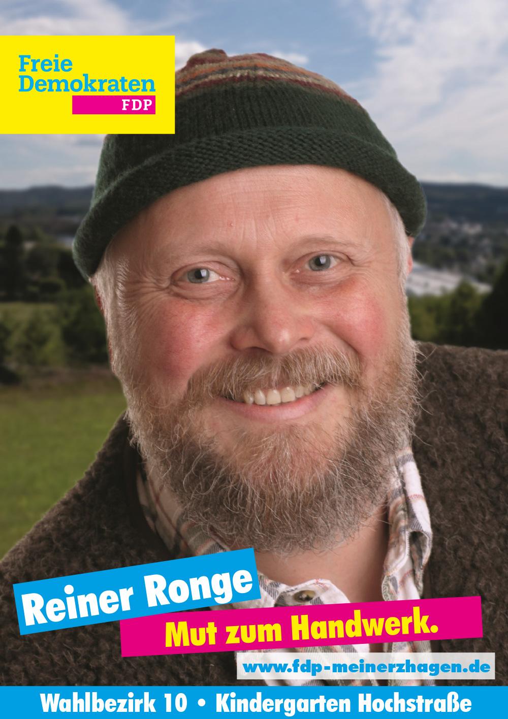 Wahlbezirk 10 - Reiner Ronge