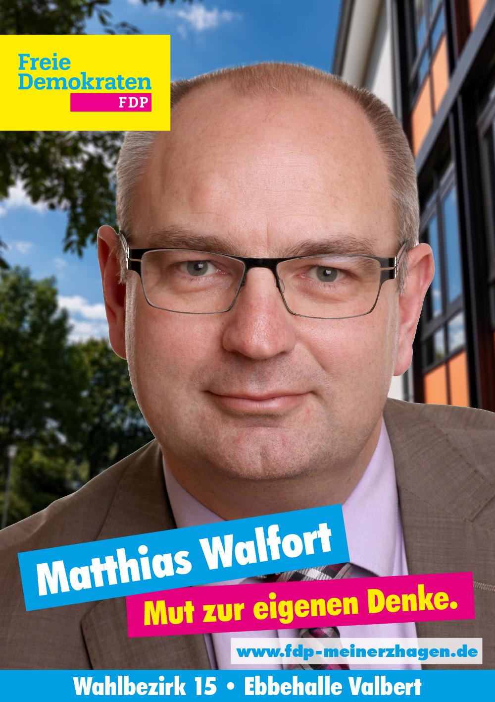 Wahlbezirk 15 - Matthias Walfort