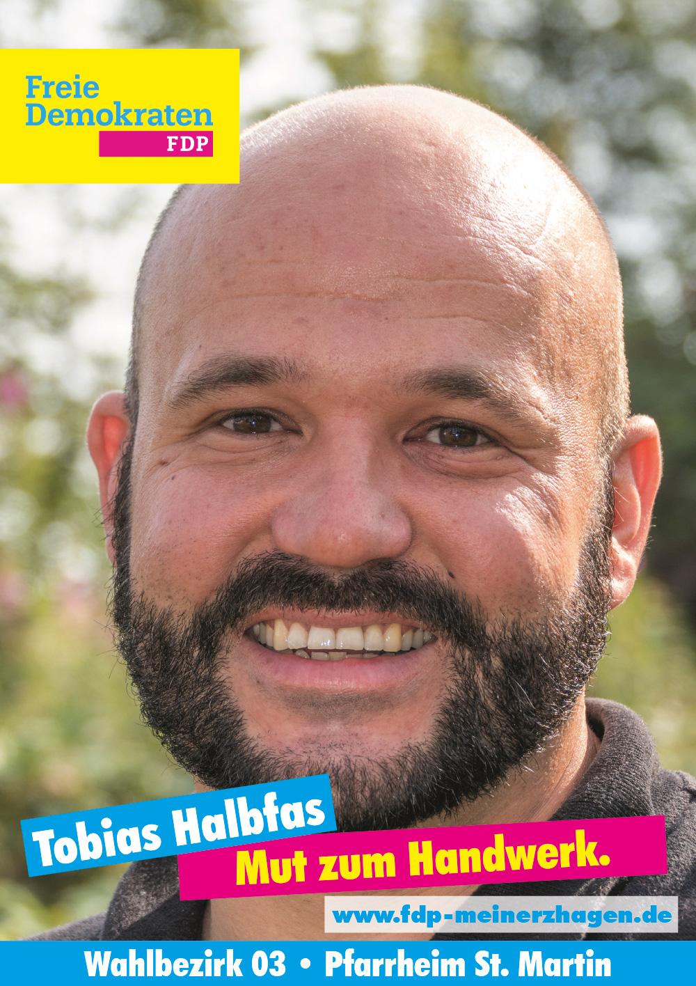 Wahlbezirk 03: Tobias Halbfas