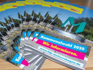 Flyer Nr. 1 - Kommunalwahl 2020