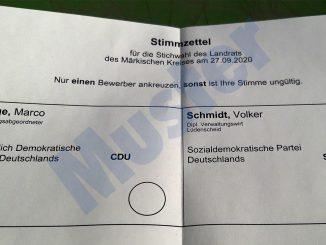 Marco Voge (CDU) und Volker Schmidt (SPD) kämpfen in der Stichwahl um das Amt des Landrats im Märkischen Kreis.