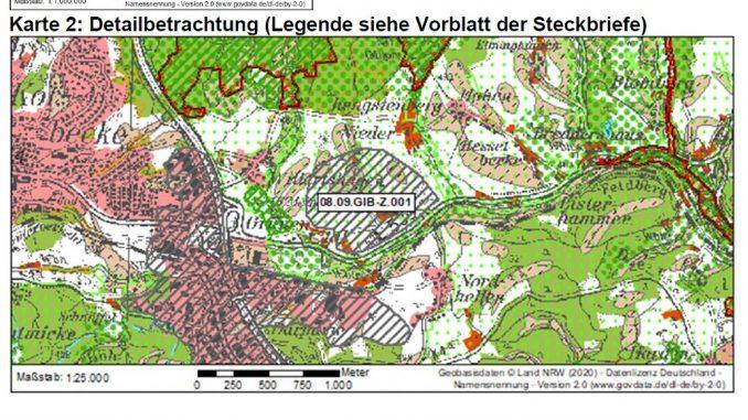 Entwurf des Flächennutzungsplans